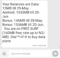How To Get Airtel 3gb for N1000 Data on Airtel Double Data Plan Bonus