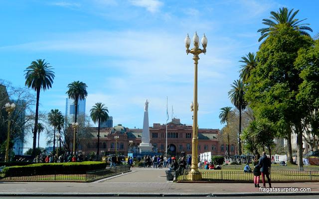 Praça de Maio e Casa Rosada