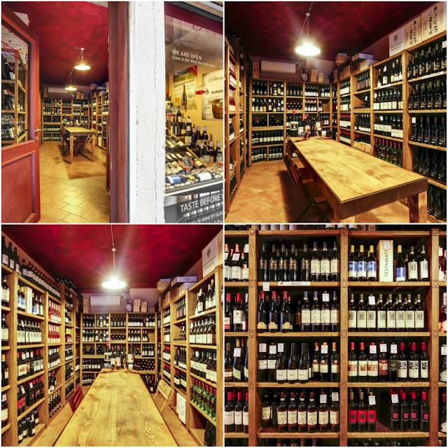 Onde comprar vinho em Veneza? Wine Shop Amarone