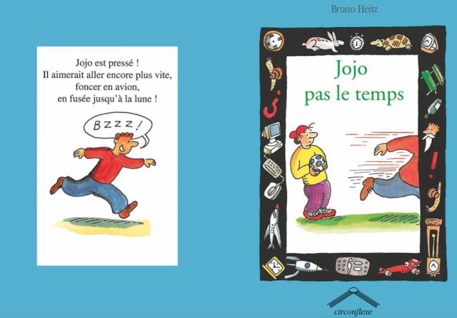قصص للأطفال - تحميل كتاب قصة Jojo pas le temps بالفرنسية ومصورة PDF