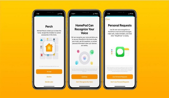 HomeKit access on iPhone