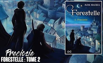 Livre - Forestelle 2 : Préciosie de Aline Maurice