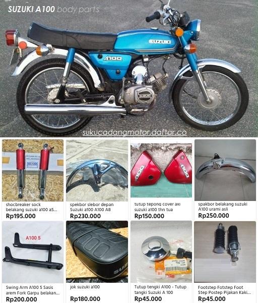 Suku Cadang Suzuki A100
