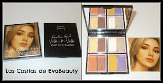 #Viva-A-Viva #paletasombras #ojos #eyes #wibo #lowcost #makeup #maquillaje #maquilleo