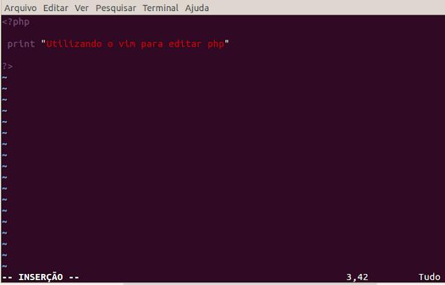 O vim é um editor de texto utilizado para diversas ocasiões, configurações de arquivos.