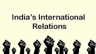 India's International Relations