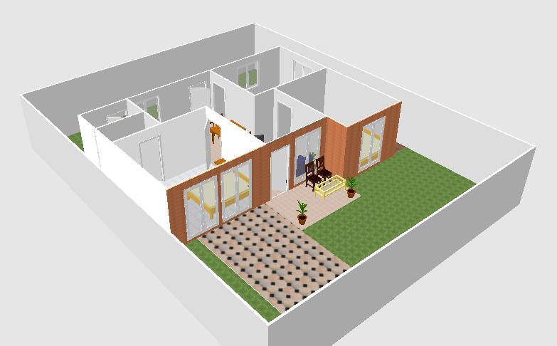 Gambar Desain Rumah Menggunakan Sweet Home 3d - House Q