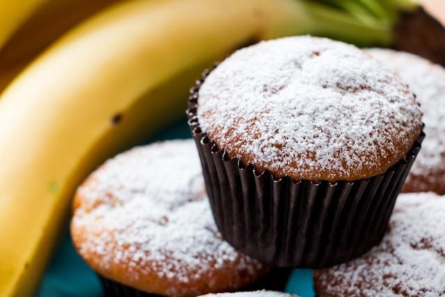 Oaty Banana Muffins