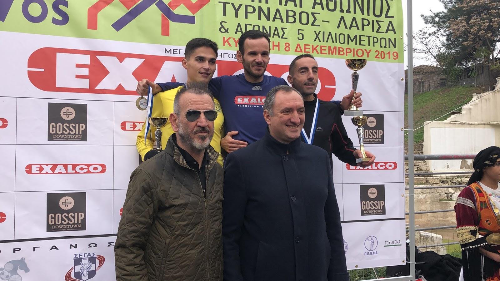 Με επιτυχία ολοκληρώθηκε ο ημιμαραθώνιος Τύρναβος – Λάρισα (ΦΩΤΟ-VIDEO)