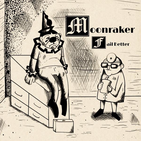 """Moonraker stream new album """"Fail Better"""""""