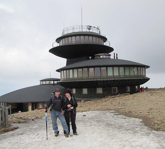 Obserwatorium Wysokogórskiego Instytutu Meteorologii i Gospodarki Wodnej na Śnieżce.