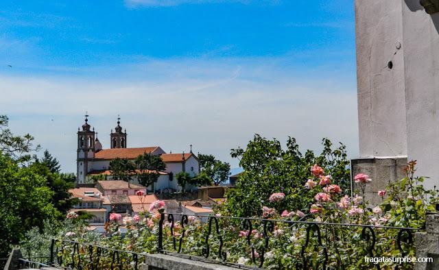 Seia, maior cidade da Serra da Estrela, Portugal