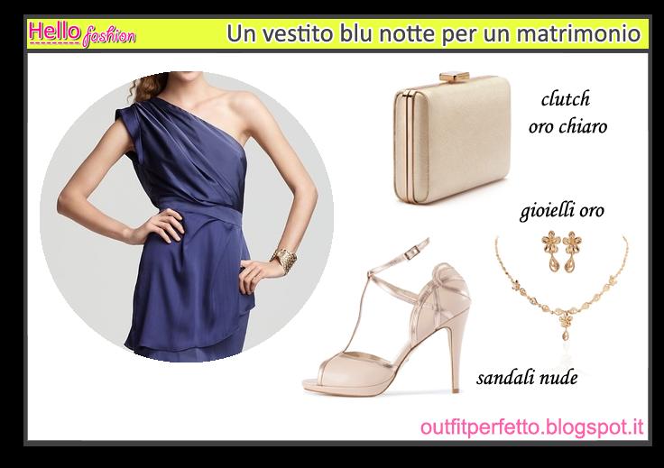 Abbinare Outfit Vestito Perfettoconsulenza Modacome Un Di Wpkxlouzit Blu 3AjcR54qSL