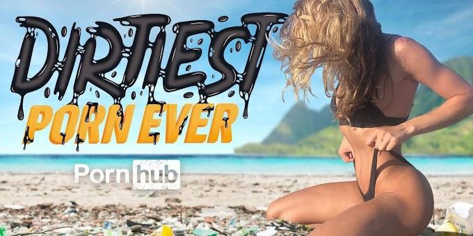 Pornhub se lanza a limpiar las playas y los mares de plásticos si ves uno de sus videos.