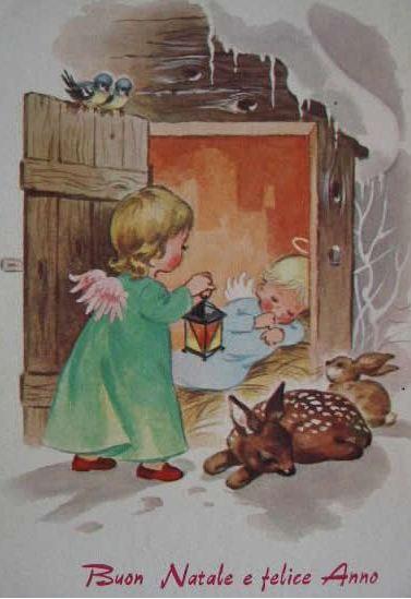 Antiche Immagini Di Natale.Dituttounpo Antiche Cartoline Di Natale 2012