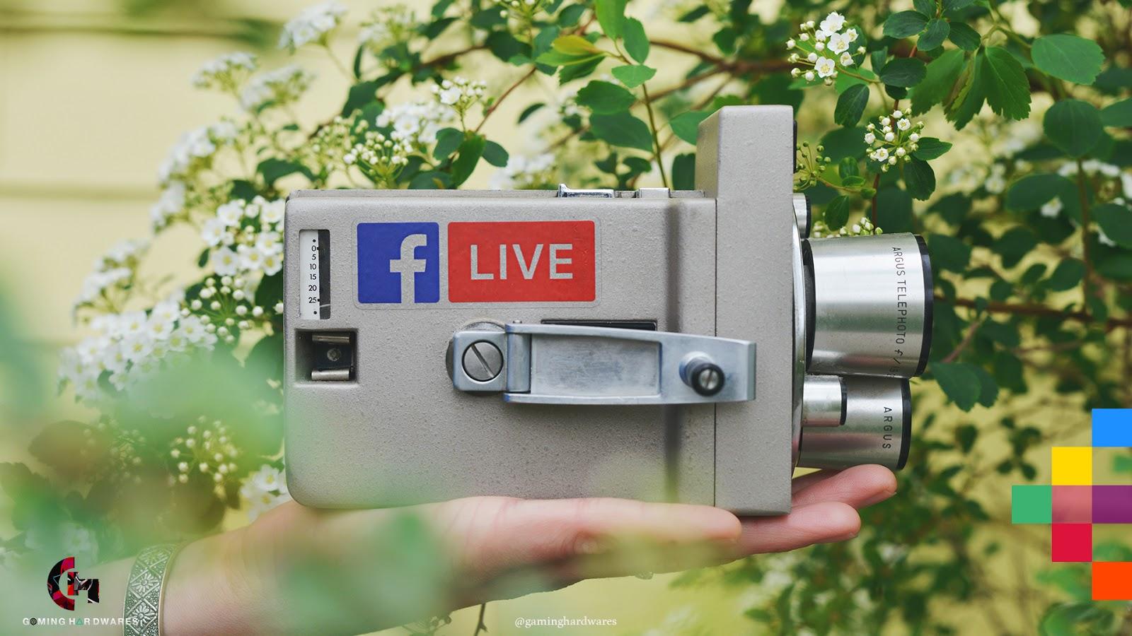 كيفية البث المباشر على الفيس بوك