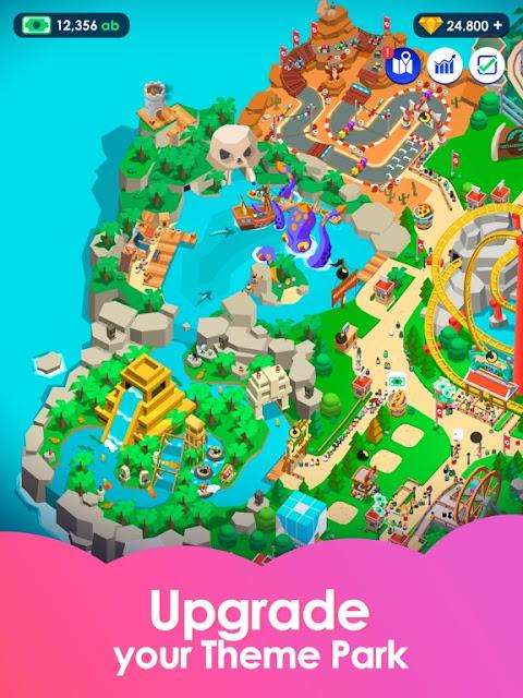 Idle Theme Park Tycoon - Recreation Game v2.0 Mod Apk