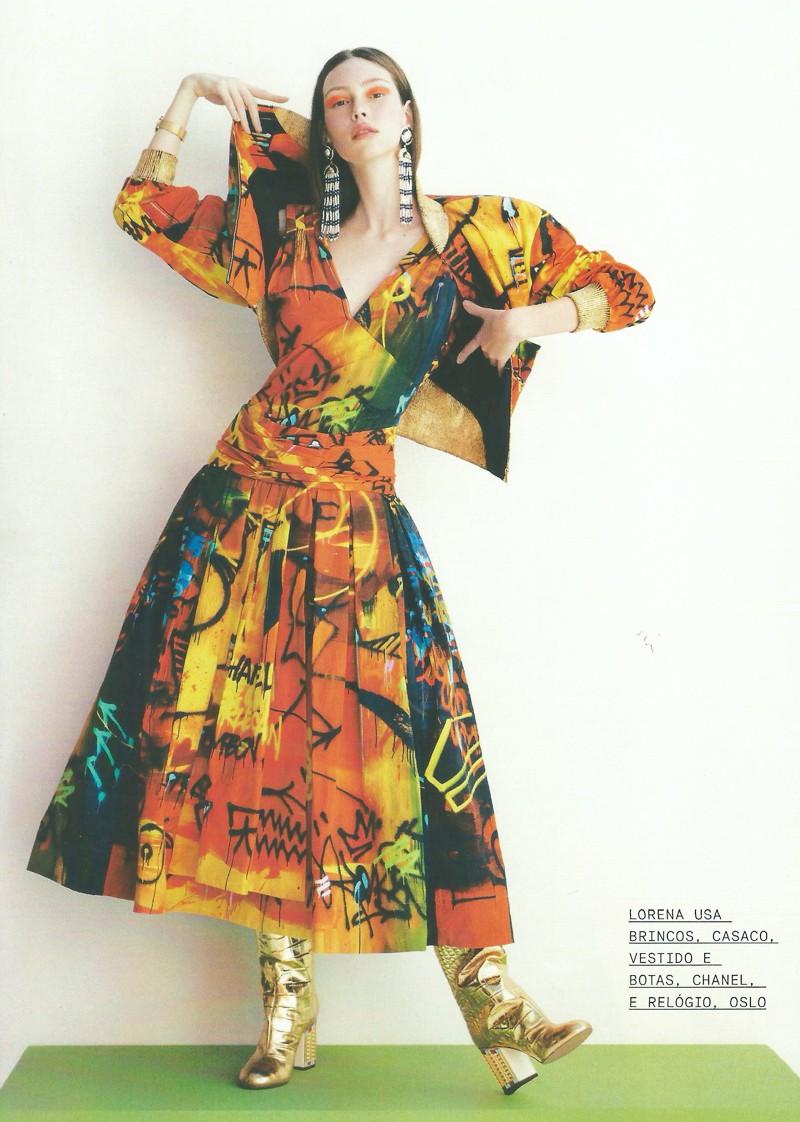 Editorial de Moda inspirado na porcelana chinesa