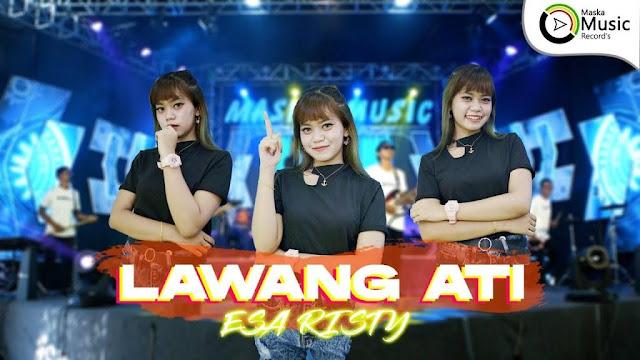 Lirik lagu Esa Risty Lawang Ati