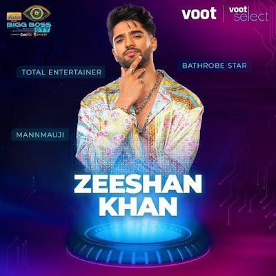 Zeeshan Khan bigg boss ott