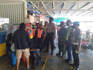 Polsek Soeta Lakukan Operasi Yustisi di Pelabuhan Makassar