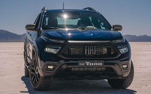 Fiat Toro - 3º veículo mais vendido do Brasil em setembro