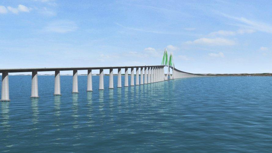 Resultado de imagem para ponte salvador itaparica