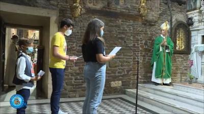 Bambini nella Santa Casa di Loreto
