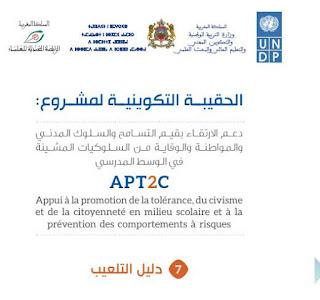 دليل التلعيب gamification الصادر عن وزارة التربية الوطنية