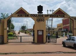 Adeyemi College of Education, Ondo (ACEONDO) 3rd Batch NCE Admission Tally Is Out For 2017/2018