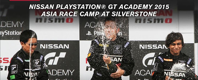 Nissan GT Asia Race Camp Winner 2015