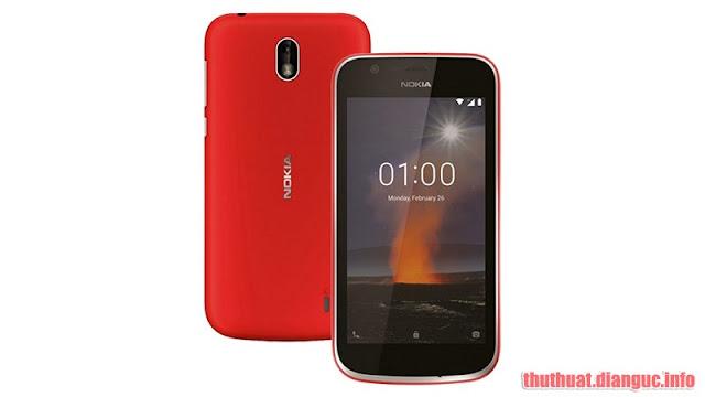 Rom cứu máy và xóa xác minh Google (bypass FRP) cho Nokia 1 (TA-1047) (MT6735)