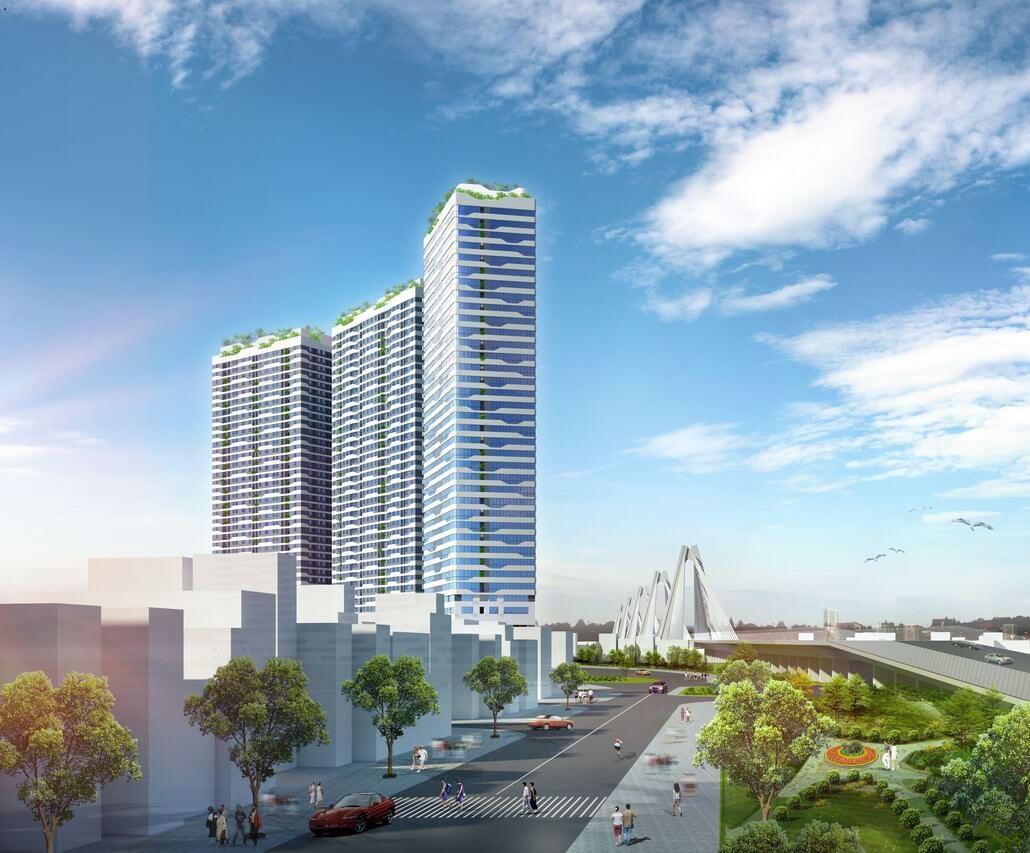 Dự án căn hộ cao cấp Intracom 8 Vĩnh Ngọc.