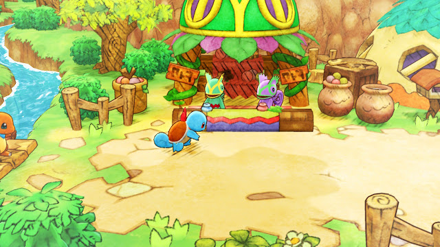 Charmander Squirtle Pokémon Mundo misterioso DX Kecleon