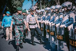 Jelang Pelatikan Presiden dan Wakil Presiden, Polres Lumajang Kerahkan 1000 Anggota