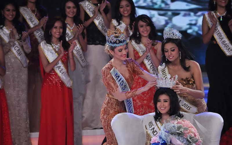 Foto Penobatan Juara Miss Indonesia 2016
