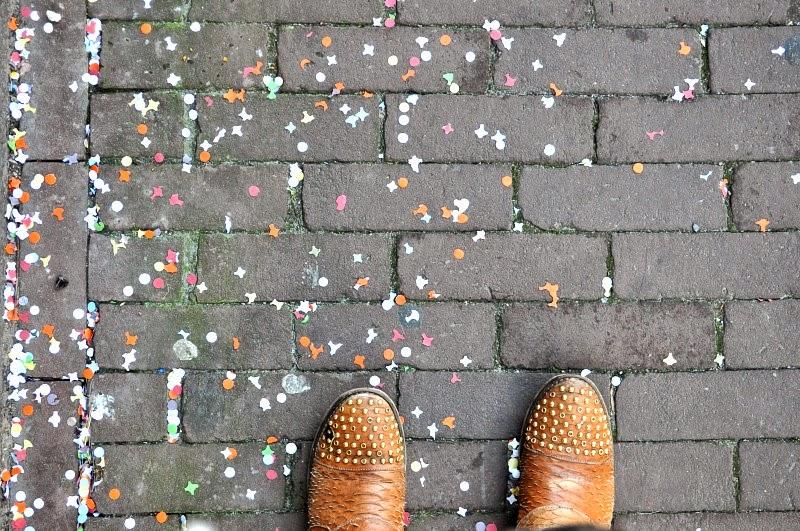 Exploring nine streets in Amsterdam
