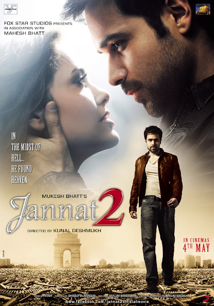 Poster of Jannat 2 (2012) Full Movie [Hindi-DD5.1] 720p BluRay x264 ESubs Download