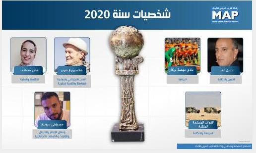 صحافيو وكالة المغرب العربي للأنباء يختارون شخصيات سنة 2020