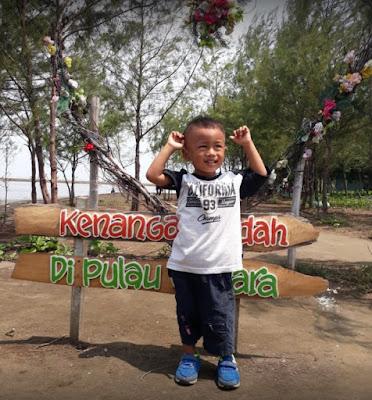 Wisata Pantai Pulau Cemara Sawojajar Brebes