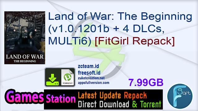 Land of War: The Beginning (v1.0.1201b + 4 DLCs, MULTi6) [FitGirl Repack]