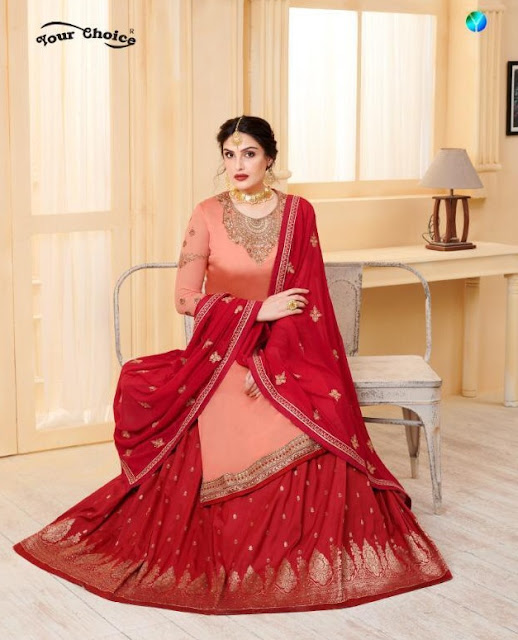 Your Choice Lasha Georgette bridal Salwar Kameez wholesaler