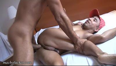 Macho Fucker - Antonio Biaggi & Nandito - Big Cock Bareback