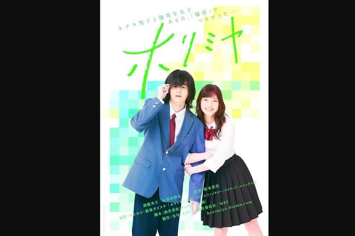 Manga Horimiya Mendapat Seri Film Live-Action