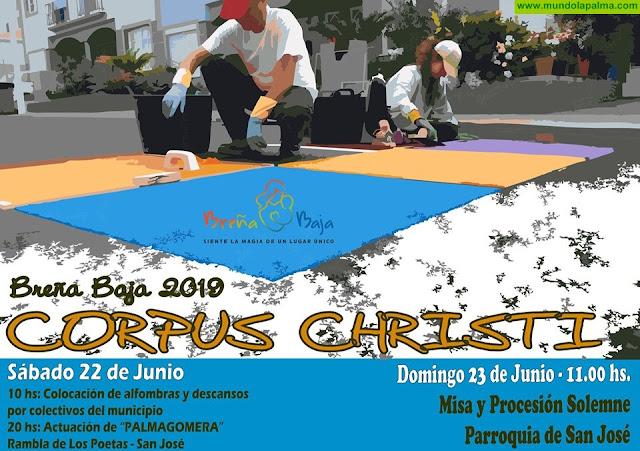 Festividad de Corpus Christi 2019 en Breña Baja