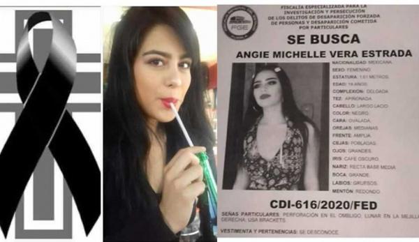"""""""Si mañana no vuelvo, quiero ser la última"""", escribió Angie Michelle, hoy la encontraron muerta en Puebla"""