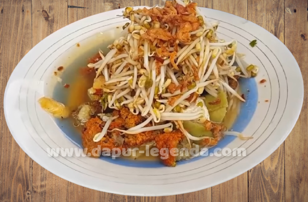 Resep dan Cara Membuat Lontong Balap Khas Wonokromo Surabaya