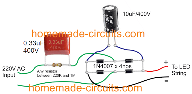 suitable for driving any LED string having less than 100 LEDs