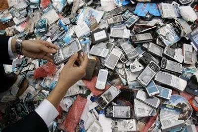 4500 portables Nokia saisis et détruits par la police
