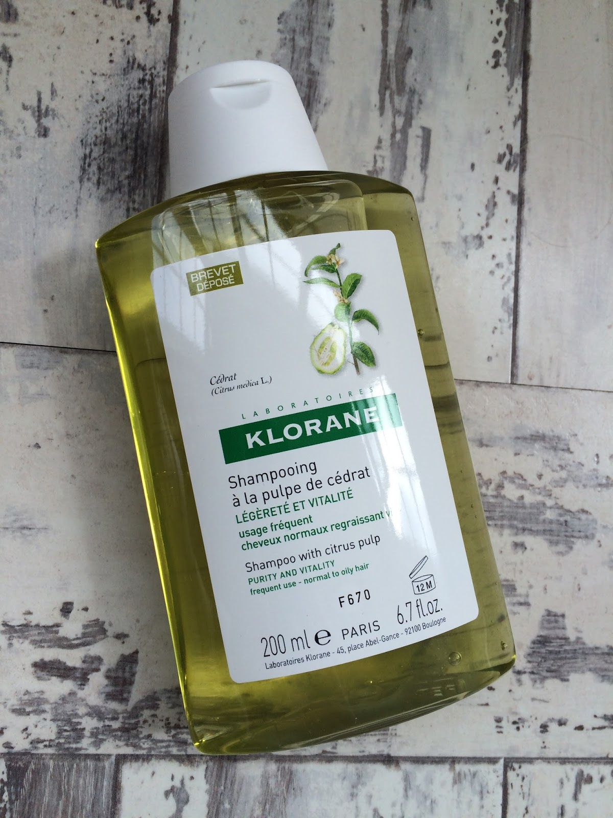 shampoos for thinning and fine hair - Klorane shampoo with citrus pulp
